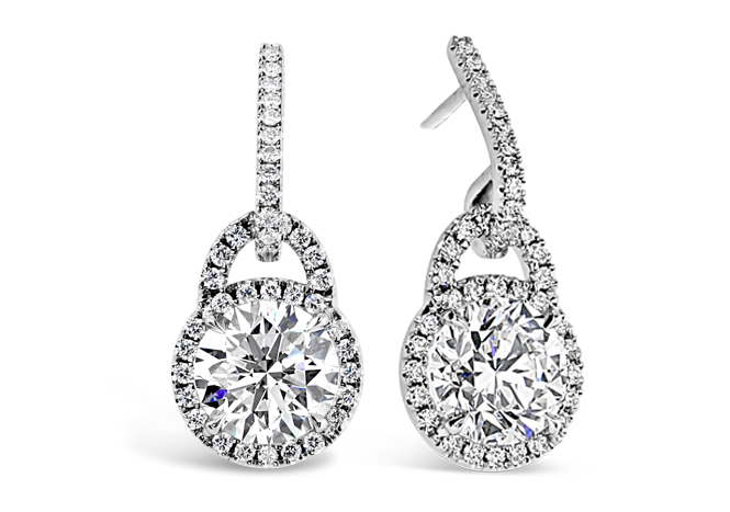 Microset Diamond Earrings